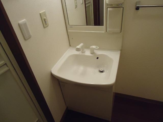 スプリーム アイ 205号室の洗面所