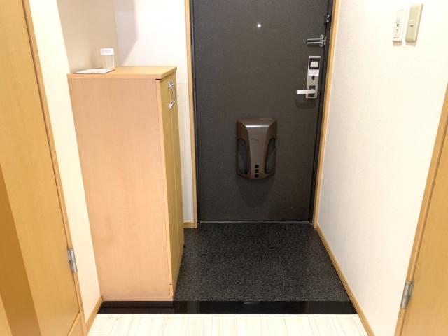 OPUS ONE 302号室の玄関