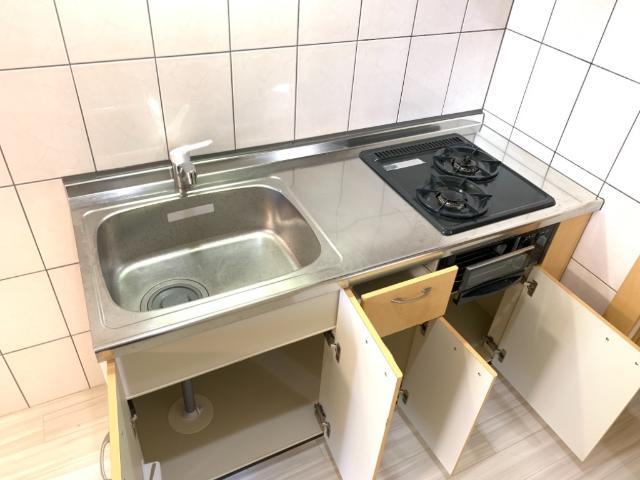 OPUS ONE 302号室のキッチン