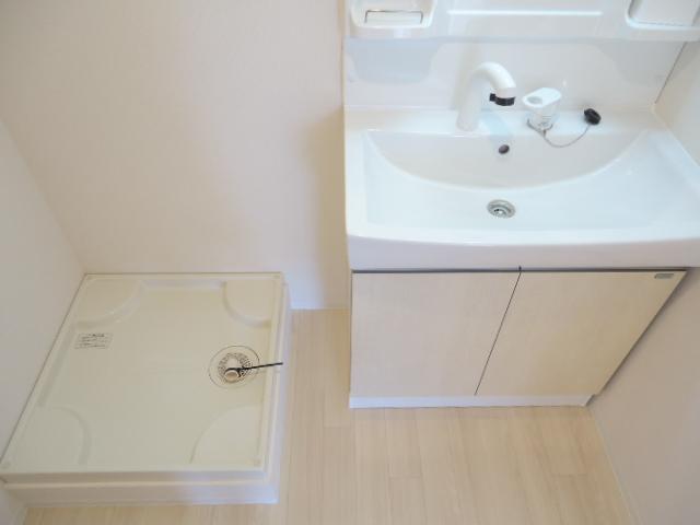 ウッドフレンズ明和 201号室の洗面所