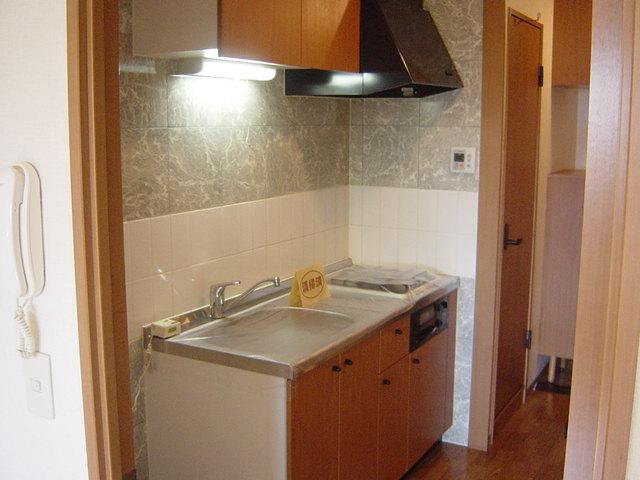 グローリアス・キャッスルⅠ 201号室のキッチン