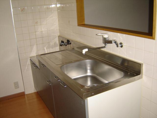 コーポアステル 00201号室のキッチン