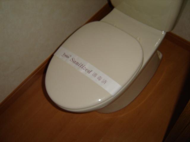 コーポアステル 00201号室のトイレ
