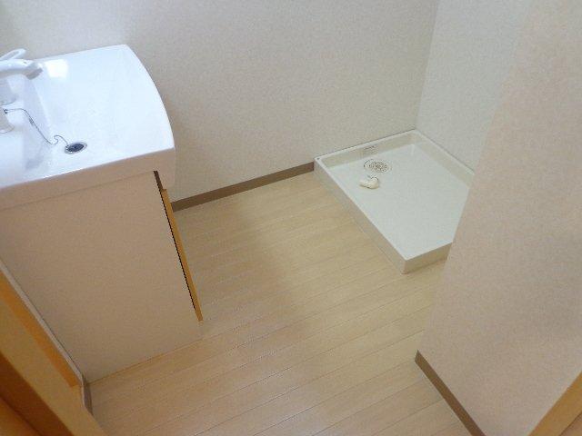ハレクラニⅠ 201号室の洗面所