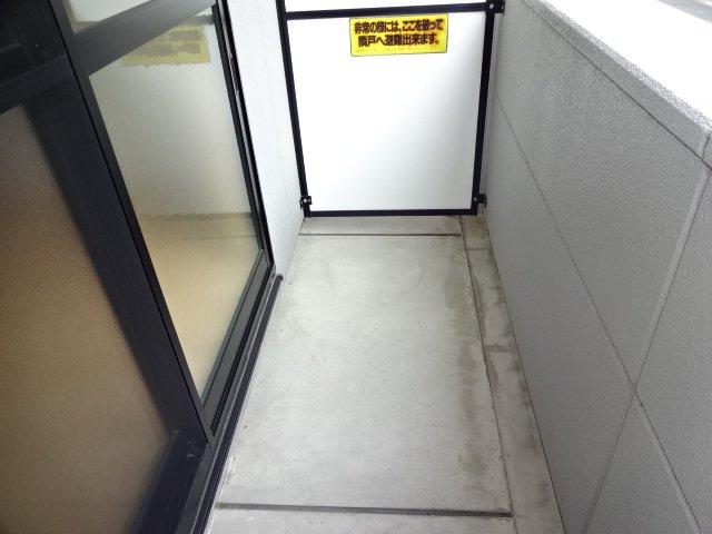コーポ23 102号室のバルコニー