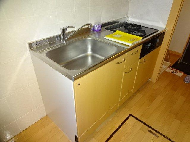 コーポ23 102号室のキッチン