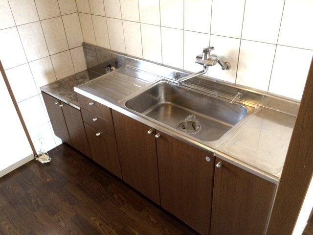 エスポアールK 202号室のキッチン