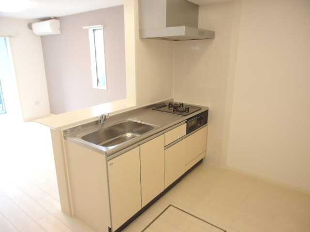 リヴィエール 205号室のキッチン