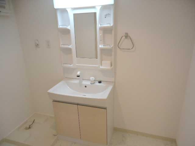 リヴィエール 205号室の洗面所