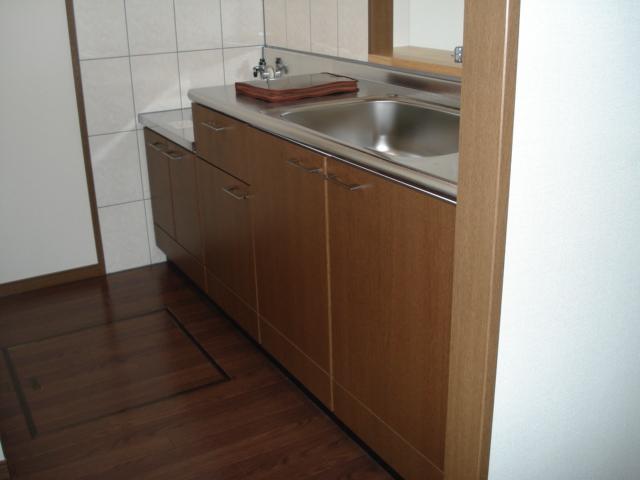 ロイヤル・ガーデン 00101号室のキッチン
