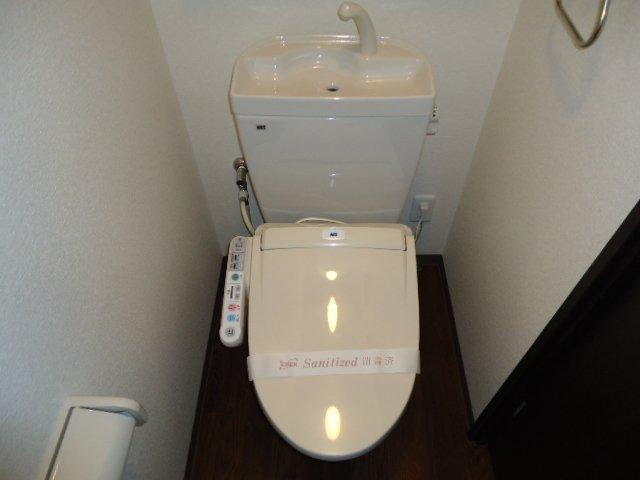 レジデンス 211号室のトイレ