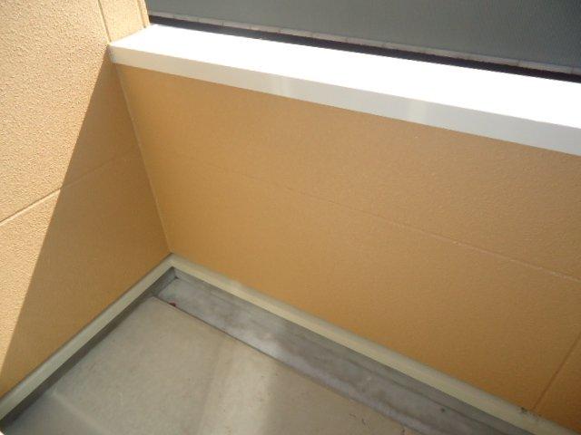 サンシャインハウスB 101号室のバルコニー