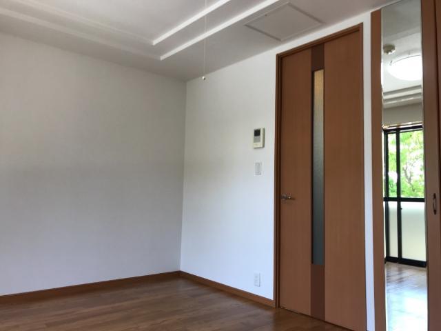 ルミナス五月 101号室のバルコニー
