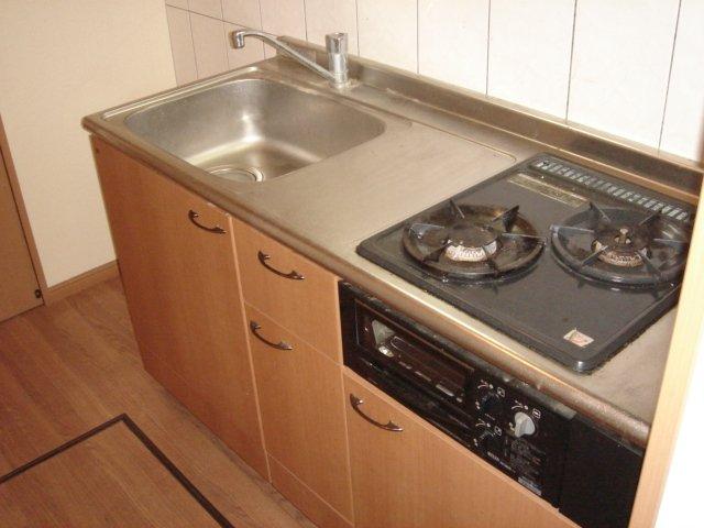 エレガンスⅠ 103号室のキッチン