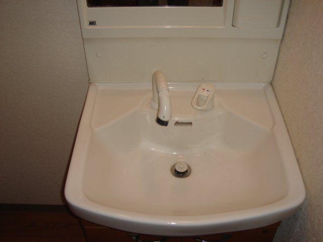 エレガンスⅠ 103号室の洗面所