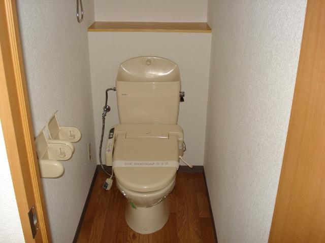 クオリティーハイツ 102号室のトイレ