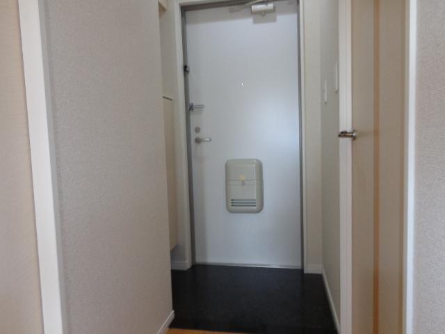 シエル クレール 201号室の玄関