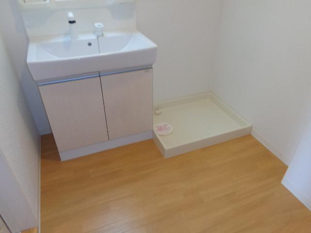 シエル クレール 201号室の洗面所