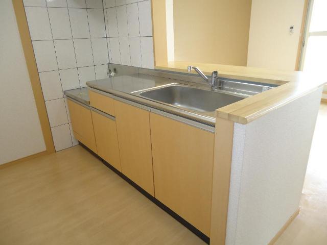 アラモード スクエア 00202号室のキッチン