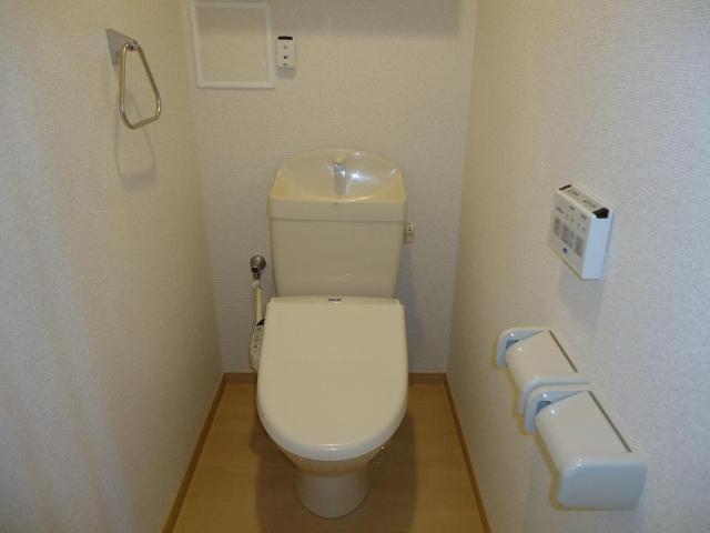 アラモード スクエア 00202号室のトイレ