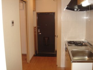 アーバン ルピナス 103号室のキッチン
