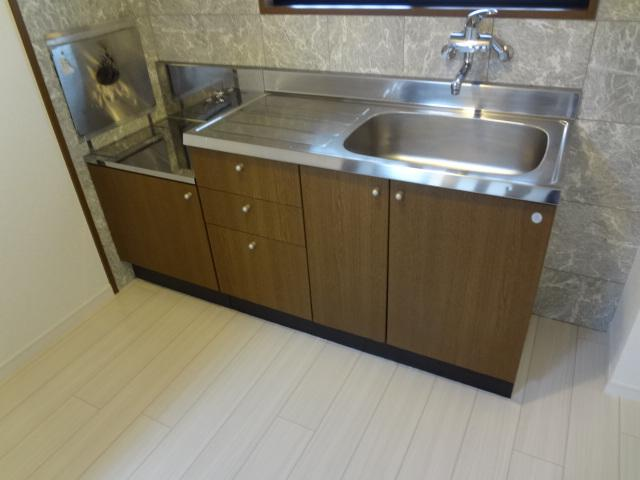 アルカディア 405号室のキッチン