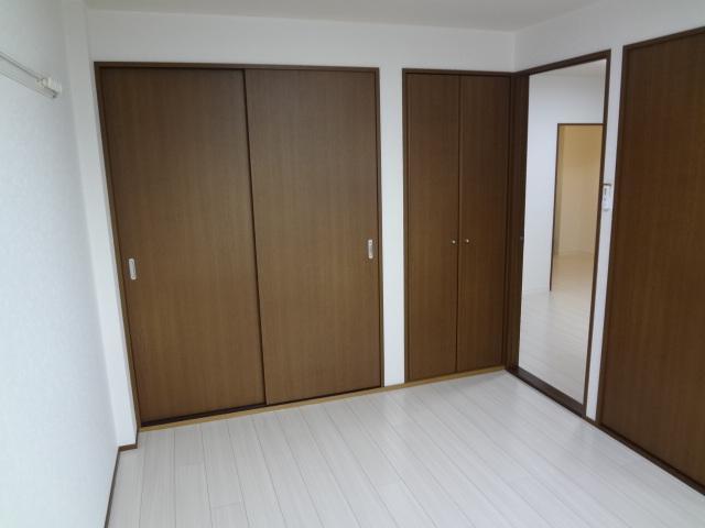アルカディア 405号室のベッドルーム
