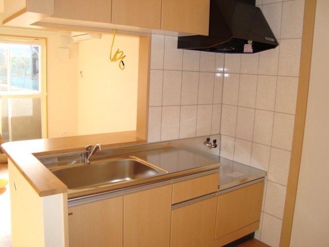 ワースファミリア 201号室のキッチン