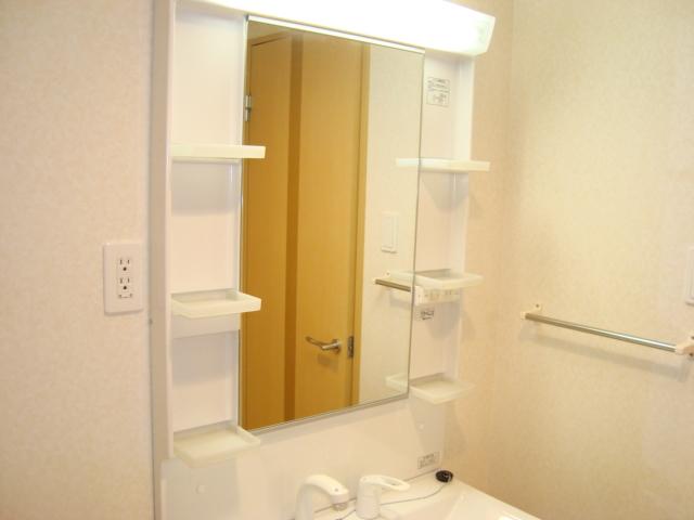 ワースファミリア 201号室の洗面所