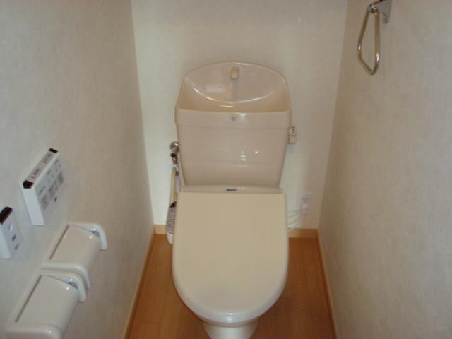 ワースファミリア 201号室のトイレ