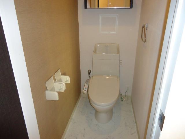 エストレイン 201号室のトイレ