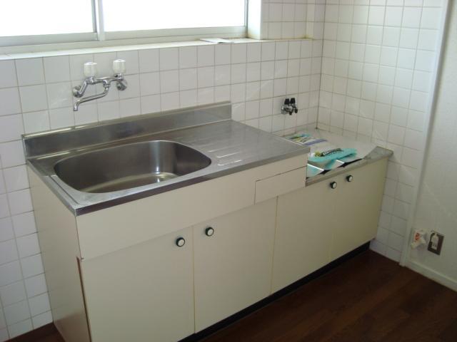 ゴールデンドーン 205号室のキッチン