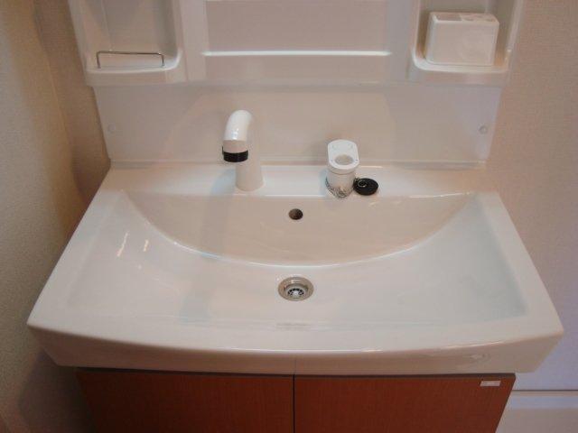 アルヴィータ 201号室の洗面所