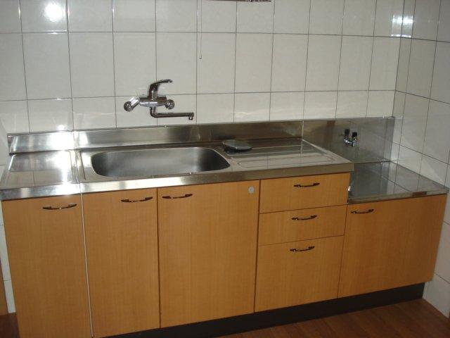 プチ キャッスル 201号室のキッチン