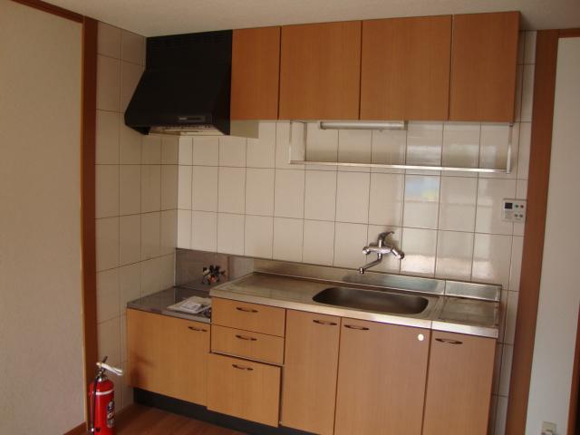 サンモールパレス 102号室のキッチン