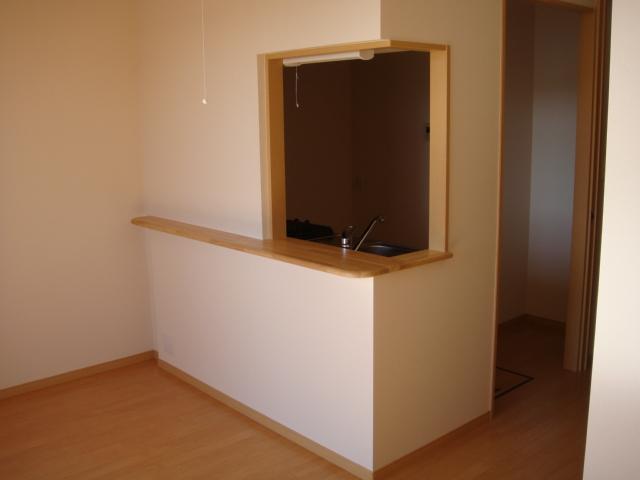 ドラクロワ 00106号室のリビング