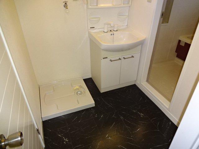 ハイツシュン 00101号室の洗面所