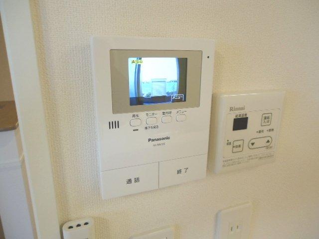 シュプール・ハウス 103号室のセキュリティ