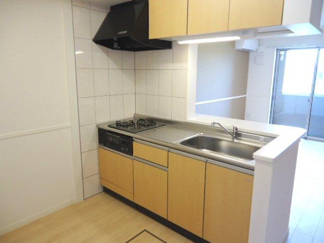 シュプール・ハウス 103号室のキッチン