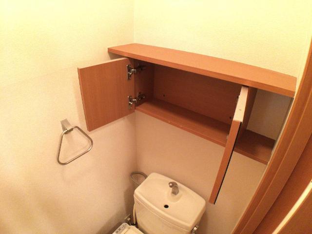 クリザンティーム 102号室のトイレ