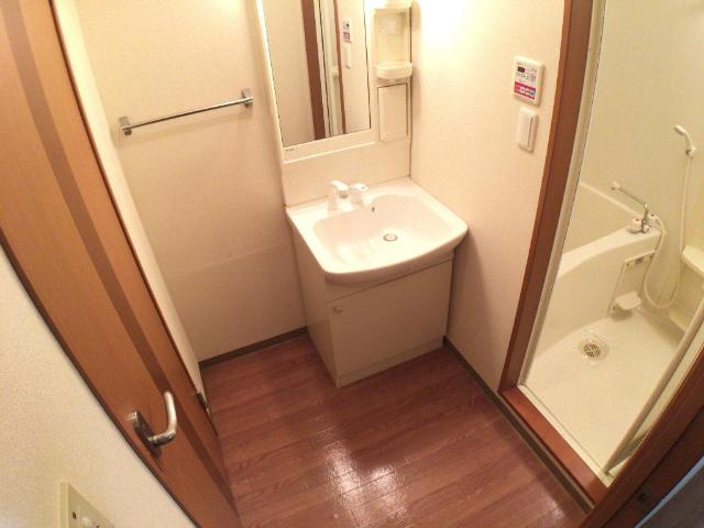 クリザンティーム 102号室の洗面所