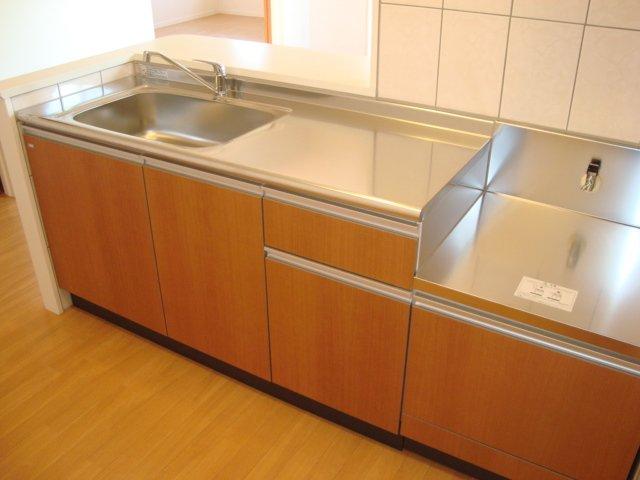 シャトー ボンヌール 203号室のキッチン