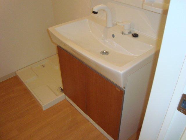 シャトー ボンヌール 203号室の洗面所