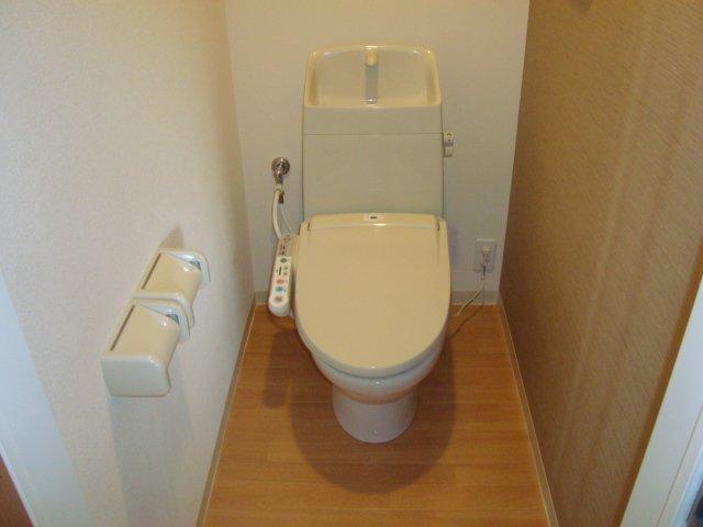 シャトー ボンヌール 203号室のトイレ