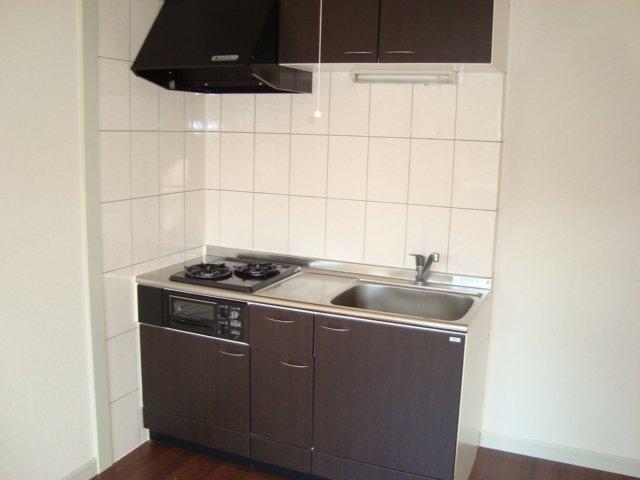 サンジュールウエストA 103号室のキッチン
