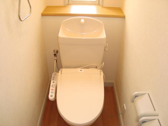 サンジュールウエストA 103号室のトイレ