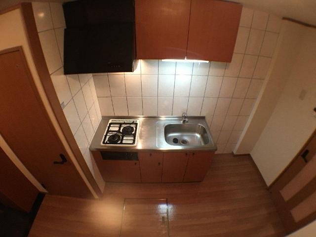 ティアラ 101号室のキッチン