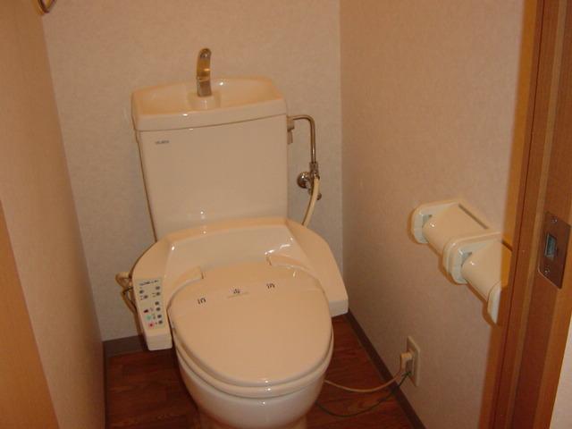 プランドール 201号室のトイレ