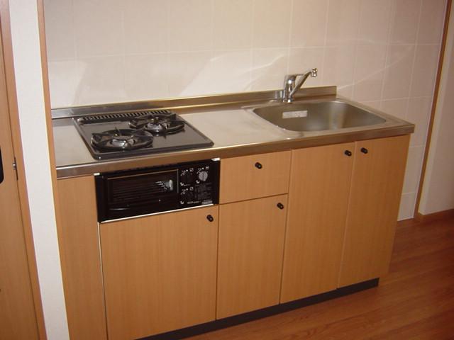 ブルーサンズ セントラル 103号室のキッチン