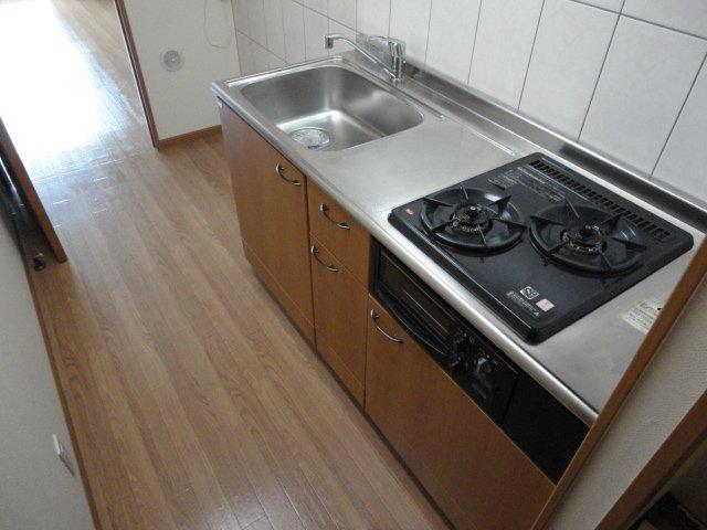 セピアローズ 102号室のキッチン